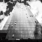 Costruzione in NYC Fotografie Stock Libere da Diritti
