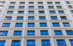Costruzione o hotel del bene immobile Fotografia Stock Libera da Diritti