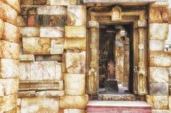 Costruzione o sturcture antica di Hdr vecchia Fotografia Stock