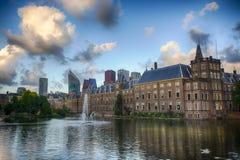 Costruzione olandese del Parlamento Immagini Stock