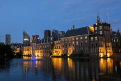 Costruzione olandese del Parlamento Fotografie Stock Libere da Diritti