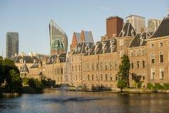 Costruzione olandese del Parlamento Immagini Stock Libere da Diritti