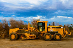 Costruzione pesante CAT Tractor Fotografia Stock
