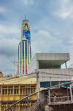 Costruzione più alta a Bangkok, cielo di Baiyoke Fotografia Stock Libera da Diritti