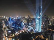 Costruzione più alta a Bangkok, Mahanakhon, Tailandia Immagine Stock