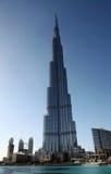 Costruzione più alta di Burj Khalifa nei UAE Fotografie Stock