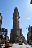 Costruzione piana del ferro a New York City Immagine Stock