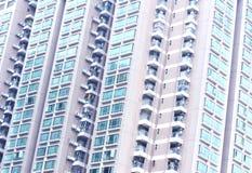 Costruzione piana densa nella porcellana Fotografie Stock