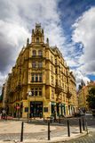 Costruzione a Praga, repubblica Ceca Immagini Stock Libere da Diritti