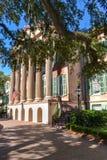 Costruzione principale all'istituto universitario di Charleston Immagini Stock Libere da Diritti