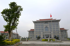 Costruzione principale, nuova città universitaria dell'università di xiamen Fotografie Stock Libere da Diritti