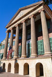 Costruzione principale sull'istituto universitario di Charleston Campus Fotografia Stock