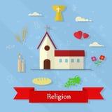 Costruzione religiosa Fotografia Stock