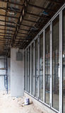 In costruzione residenziale Fotografie Stock