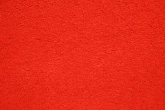 Costruzione rossa del gesso, struttura Fotografie Stock