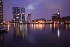 Costruzione Rotterdam Fotografia Stock