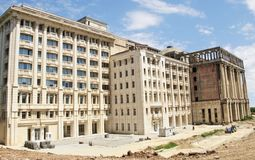 Costruzione rumena dell'accademia Fotografie Stock