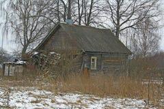 Costruzione rurale abbandonata Fotografia Stock