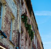 Costruzione rustica di Charleston South Carolina fotografia stock