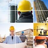 costruzione sotto fotografia stock
