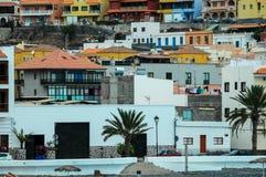 Costruzione spagnola coloniale colorata tipica Fotografia Stock Libera da Diritti