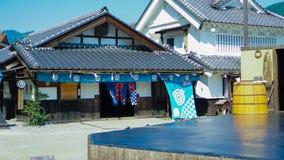 costruzione stile Edo Fotografia Stock