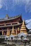 Costruzione stile occidentale del Yunnan Dali Dragon City Fotografia Stock