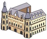 Costruzione storica Royalty Illustrazione gratis