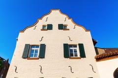 Costruzione storica in Bedburg alt-Kaster, Germania Immagine Stock