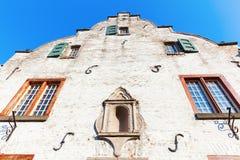 Costruzione storica in Bedburg alt-Kaster, Germania Fotografie Stock Libere da Diritti