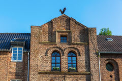 Costruzione storica in Bedburg alt-Kaster, Germania Fotografia Stock