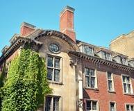 Costruzione storica a Cambridge Fotografia Stock