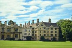Costruzione storica a Cambridge Fotografie Stock Libere da Diritti