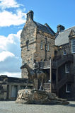 Costruzione storica, castello di Edimburgo Fotografia Stock