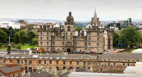 Costruzione storica da Edinburgh immagine stock libera da diritti