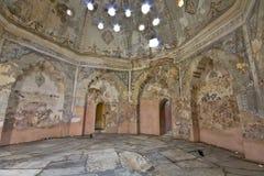 Costruzione storica del bagno del hamam di bey alla Grecia Fotografie Stock