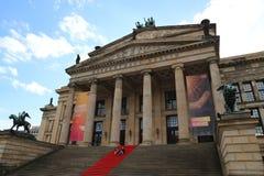 Costruzione storica del punto di riferimento della casa di concerto a Berlino Immagine Stock