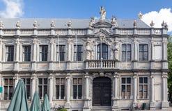 Costruzione storica di Bruges Belgio Immagine Stock Libera da Diritti