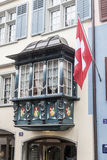 Costruzione storica di Zurigo Svizzera Fotografia Stock