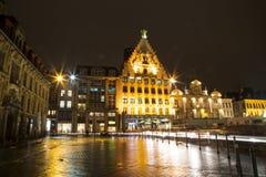 Costruzione storica a Lille Fotografia Stock