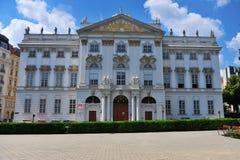 Costruzione storica nel centro urbano di Vienna Fotografia Stock Libera da Diritti