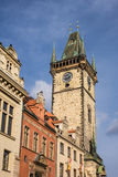 Costruzione storica in Prag Fotografia Stock