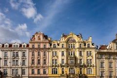 Costruzione storica in Prag Fotografie Stock