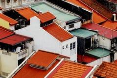 Costruzione storica a Singapore fotografie stock libere da diritti