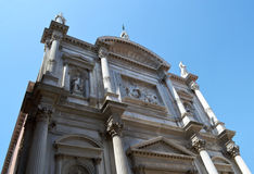 Costruzione storica a Venezia Fotografia Stock
