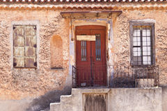 Costruzione su Samos Fotografia Stock Libera da Diritti