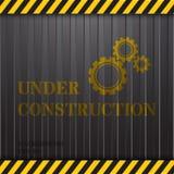In costruzione sul fondo del contenitore Illustrazione di Stock