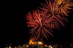 Costruzione tailandese nordica di stile del luang noioso di Kham del fuoco d'artificio nel ratchaphreukin reale Chiang Mai, Taila Fotografia Stock