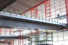 Costruzione terminale dell'aeroporto Immagini Stock Libere da Diritti