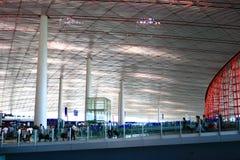 Costruzione terminale dell'aeroporto Fotografia Stock